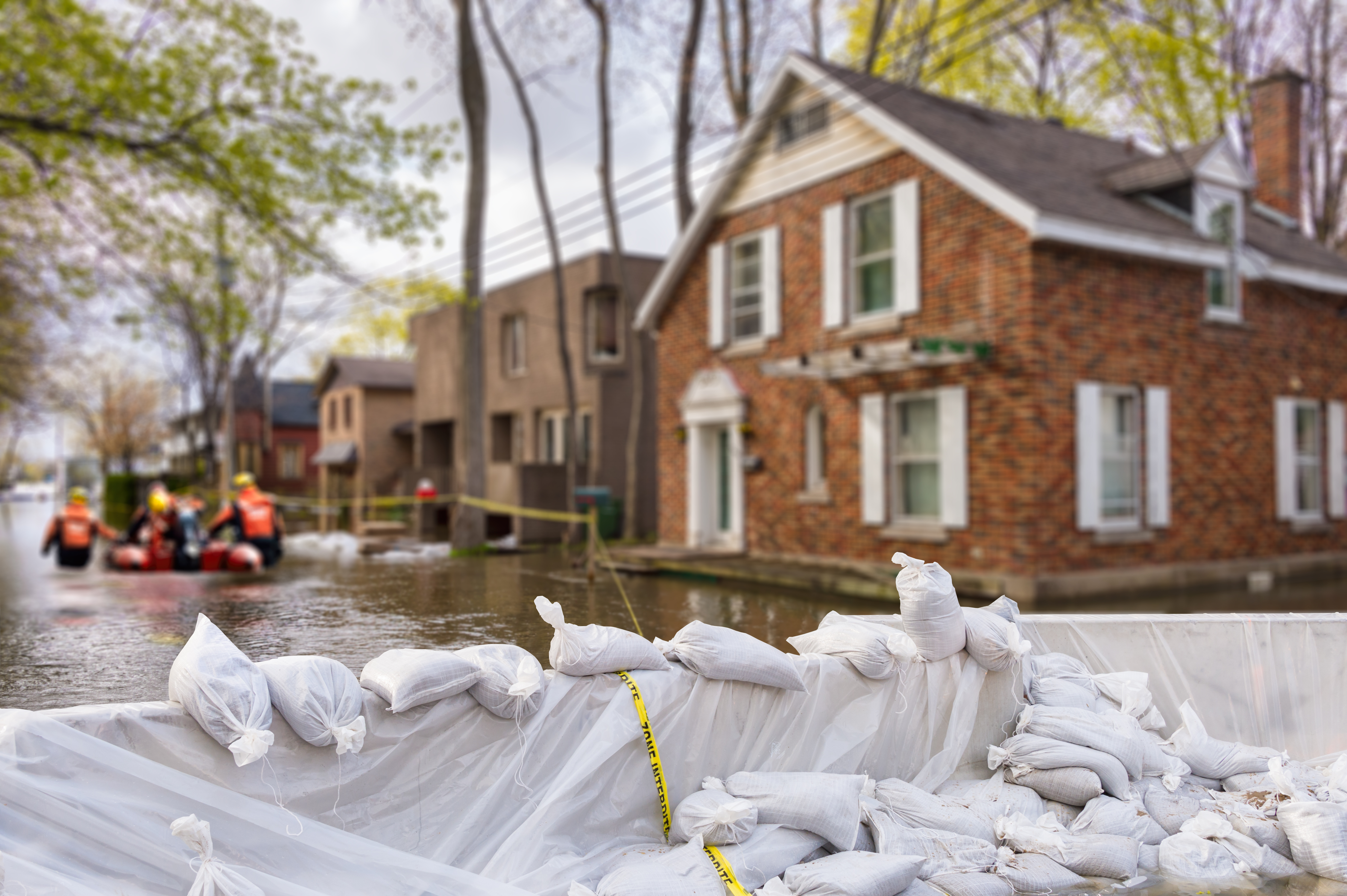 insurance deals flooded home